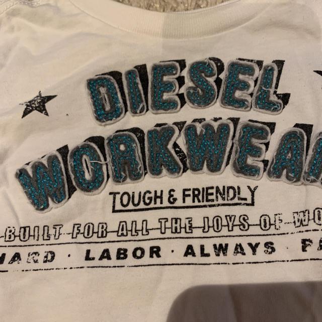 DIESEL(ディーゼル)のロンT DIESEL  9M 70〜80cm キッズ/ベビー/マタニティのベビー服(~85cm)(Tシャツ)の商品写真