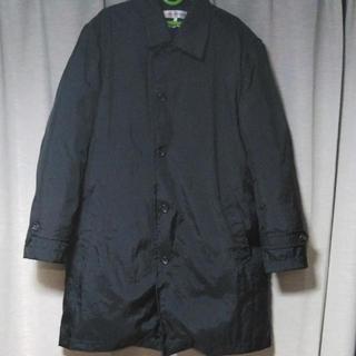 コムデギャルソン(COMME des GARCONS)のコムデギャルソンシャツ ダウンコート M 黒(ステンカラーコート)