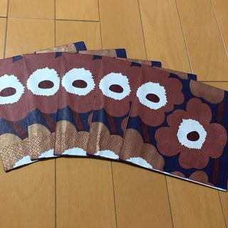 マリメッコ(marimekko)のペーパーナプキン   マリメッコ    U-⑱    5枚(各種パーツ)