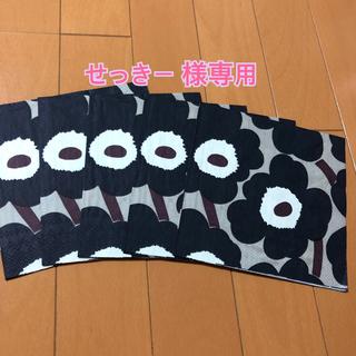 マリメッコ(marimekko)のペーパーナプキン   マリメッコ   U-⑲    5枚(各種パーツ)