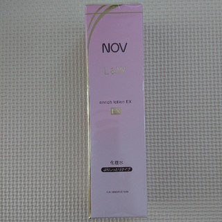 NOV - 新品  ノブ  L&W  よりしっとりタイプ化粧水