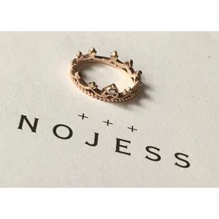 ノジェス(NOJESS)のnojess  フェアリークラウンピンキーリング 3号(リング(指輪))