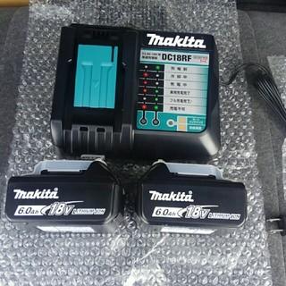 Makita - 【マキタ】BL1860B×2個&DC 18RF 高速型式バッテリー&急速充電器