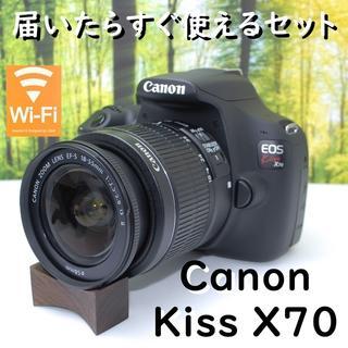 Canon - シンプル操作!より良い写真を手軽に☆キヤノン EOS Kiss X70★