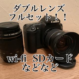 Canon - 美品canon 20Dダブルレンズ、wi fi SDカード等オマケ付き