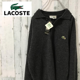 LACOSTE - 【超激レア】ラコステ☆シュミーズ ワンポイントロゴ ウール ニットセーター90s