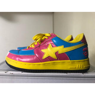 A BATHING APE - APE KAWS BAPESTA US9.5