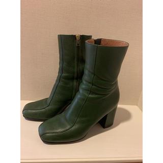 マルニ(Marni)のマルニ ブーツ 緑 グリーン(ブーツ)
