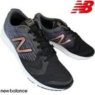 New Balance - 土日祭日特価!超人気☆ニューバランス☆クッション抜群!ブラック24cm