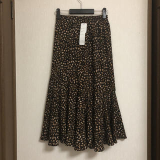 しまむら - しまむら レオパード マーメイドスカート 新品未使用
