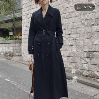 Ameri VINTAGE - AMERI BELT FLARE LONG COAT