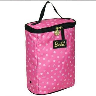 バービー(Barbie)のバービー ボックス型 シューズケース ピンク(シューズバッグ)