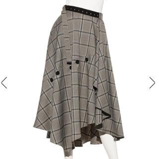 FRAY I.D - 正規品 タグ付 チェックツィードスカート