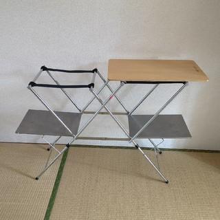 ユニフレーム(UNIFLAME)のユニフレーム キッチンスタンドii wood(テーブル/チェア)