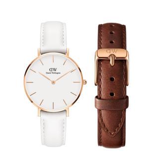 Daniel Wellington - 【32㎜】ダニエル ウェリントン 腕時計DW189+ベルトSET〈3年保証付〉