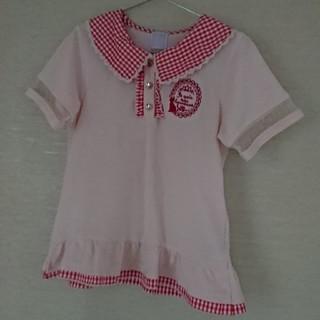 アクシーズファム(axes femme)の美品☆  axes femme kids  半袖シャツ(Tシャツ/カットソー)
