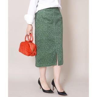 シップス(SHIPS)のPrefer SHIPS コーデュロイタイトスカート(ロングスカート)