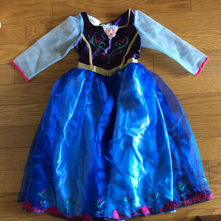 Disney - アナと雪 ドレス ハロウィン 仮装 女の子 100 110