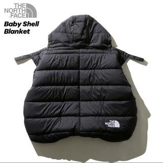 ザノースフェイス(THE NORTH FACE)のノースフェイス新作Baby Shell Blanket ベビーシェルブランケット(おくるみ/ブランケット)