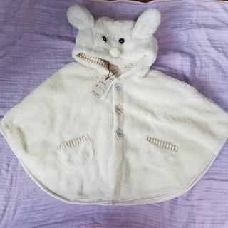 プティマイン(petit main)の白い動物ポンチョ🐰(ポンチョ)