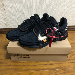 OFF-WHITE - 【US10】NIKE × Off-White  AIR PRESTO