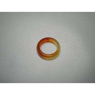 L2-21●パワーストーン●天然石メノウ指輪●瑪瑙 めのう●11.5号リング●(リング(指輪))