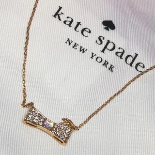 kate spade new york - 新品未使用◆kate spade リボンモチーフネックレス