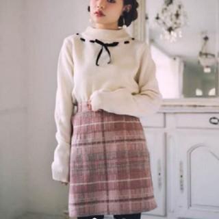 GRL - GRL♡ちいぽぽ着用ピンクチェックスカート