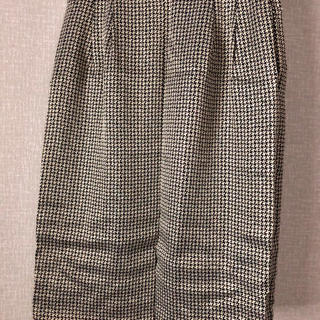 サンローラン(Saint Laurent)のYSL ラメスカート美品(ひざ丈スカート)