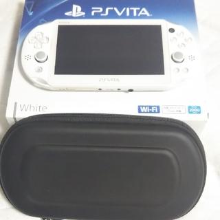 PlayStation Vita - PSVITA 2000  Wifi モデル ホワイト SD16GBとケース付