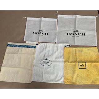 プラダ(PRADA)のプラダ フェンディ トリーバーチ  コーチ 保存袋セット(ショップ袋)