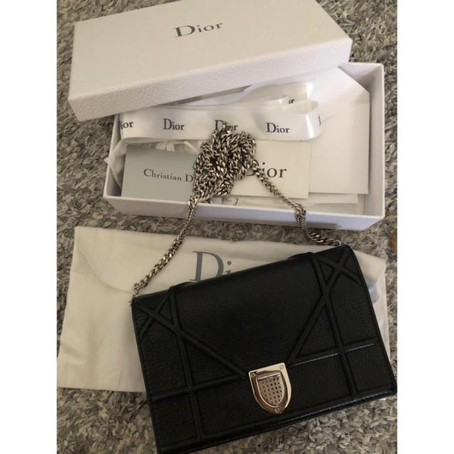 Christian Dior(クリスチャンディオール)のひじき様専用⭐️DIORAMA チェーン クラッチ レディースのバッグ(ショルダーバッグ)の商品写真