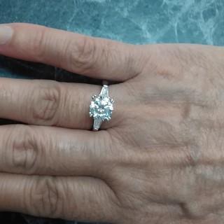 ハリーウィンストン(HARRY WINSTON)のご確認用/最高級合成ダイヤモンド/SONAダイヤモンドリング2ct(リング(指輪))