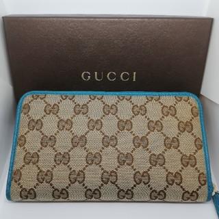 Gucci - GUCCI レディース 長財布 GGキャンバス