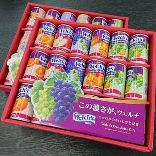 アサヒ - ウェルチ 100%果汁ギフト✕2箱
