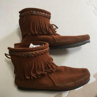 ミネトンカ(Minnetonka)のミネトンカ ショートブーツ(ブーツ)