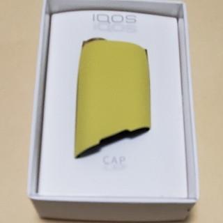 アイコス(IQOS)のIQOS3 MULTI アイコス3マルチ キャップ イエロー 黄色(タバコグッズ)