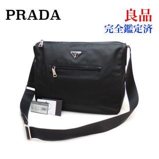 プラダ(PRADA)の良品 PRADA プラダ ナイロン ショルダーバッグ BT0714 黒(ショルダーバッグ)