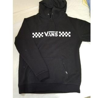 ヴァンズ(VANS)の【未使用】限定 vans パーカー ブラック xl(パーカー)