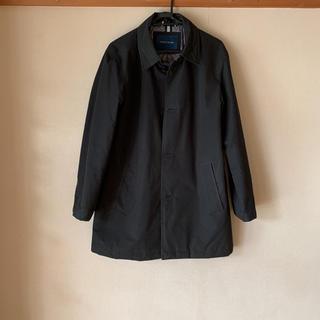 コールハーン(Cole Haan)のステンカラーコート コールハーン Sサイズ ブラック(ステンカラーコート)