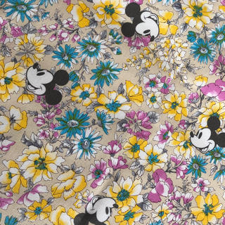 Disney - ミッキー 生地 ハギレ