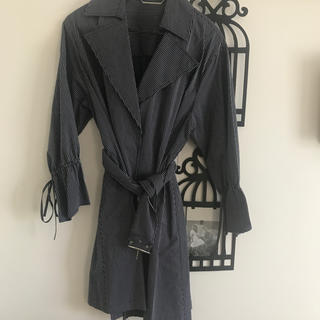 ミラオーウェン(Mila Owen)のミラオーウェン  ベルト付きストライプシャツ ジャケット(シャツ/ブラウス(長袖/七分))