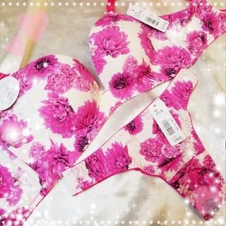 エメフィール(aimer feel)の♡aimerfeel♡超盛ブラ&Tバックset♡C75/M♡(ブラ&ショーツセット)