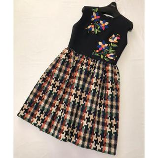 Chesty - 美品♡チェスティ♡ツイード刺繍ワンピース♡サイズ1