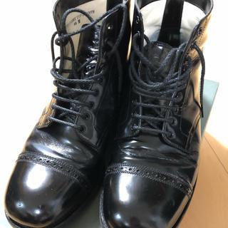エビス(EVISU)のウォークオン ストレートチップブーツブラック(walkon エヴィスEVISU)(ブーツ)