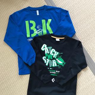 コンバース(CONVERSE)のバスケット用 長袖Tシャツ(140サイズ)(バスケットボール)