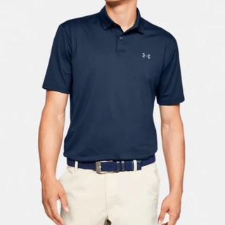 アンダーアーマー(UNDER ARMOUR)の(ほぼ新品)アンダーアーマーUnder Armour ゴルフ ポリシャツ(ポロシャツ)