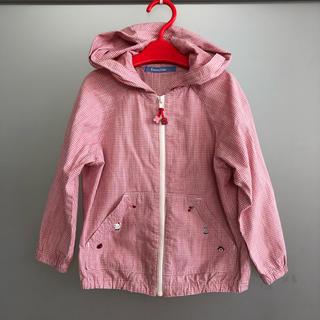 familiar - 【極美品】ファミリア フード付きジャケット 100㎝