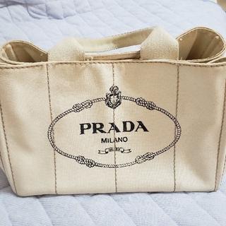 プラダ(PRADA)のPRADAカナパ ホワイト(トートバッグ)