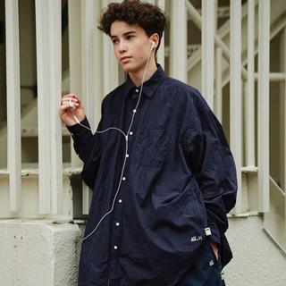 BEAMS - HOUYHNHNM SSZ × A.H mens big shirt